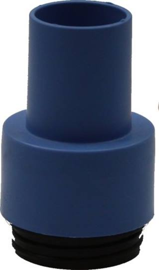 DUSTCARE adapter blauw t.b.v.kantenschuurmachines