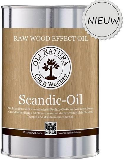 Oli-Natura Scandic Oil 1 liter Verpakt per 6 x 1 liter