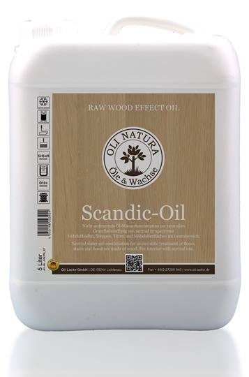 Oli-Natura Scandic Oil 5 liter Verpakt in 5 liter can