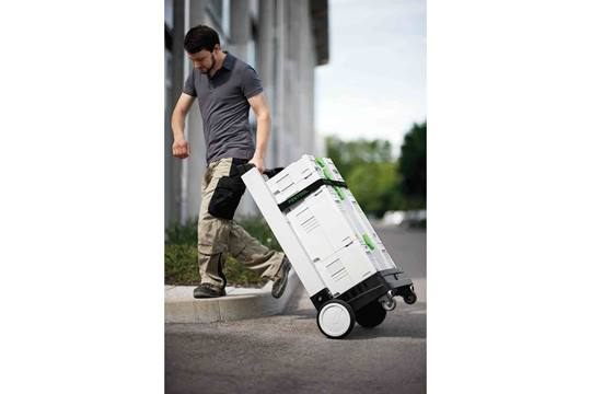 FESTOOL Sys-Roll 100 transport van Systainers