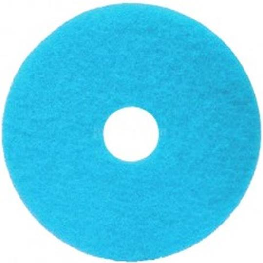 Duoline Pad Ø 400 mm. / 16 inch 20 mm. DIK Lichtblauw Verpakt per 5 stuks
