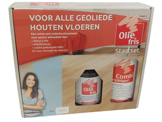 OLIEFRIS startset Naturel Verpakt per 6 sets