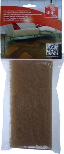 OLIEFRIS piccopad beige Verpakt per 10 stuks