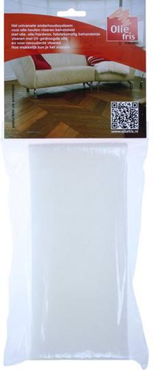 OLIEFRIS piccopad wit Verpakt per 10 stuks