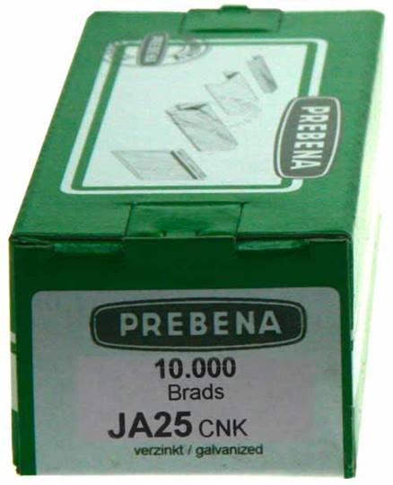 Microbrads Prebena 25 mm.    Verpakt per 10.000 stuks