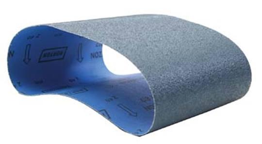NORTON Norzon schuurbanden Blauw P80 Afname per 10 stuks