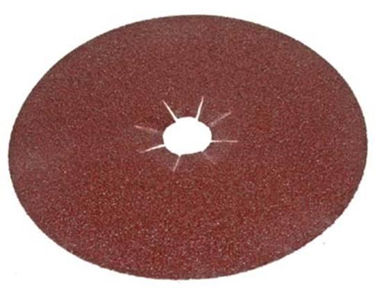 NORTON Aluminiumoxide Ø 175 mm. klitbevestiging P 100 Afname per doos 100 stuks