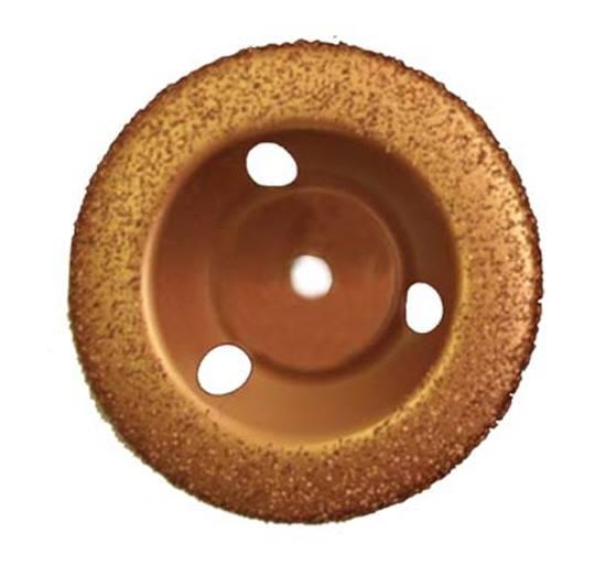 Titan vlakschijf ronde rand P 36 Ø 125 t.b.v. aandrijfschijf en haakse slijper