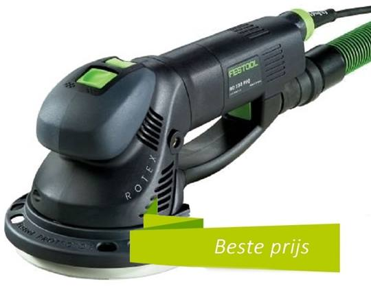 FESTOOL Rotex RO 150 FEQ-PLUS  230 V inclusief systainer SYS 2 T-LOC, MULTI-JETSTREAM