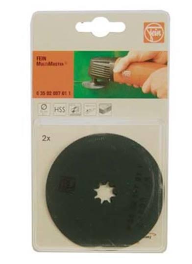 FEIN zaagblad cirkel 80 mm.  Verpakt per 2 stuks, prijs per stuk