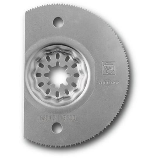 FEIN segmentzaagblad halve cirkel 85 mm. HSS