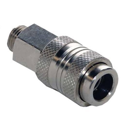Steekkoppeling universeel 6-9 mm. ¼ budr