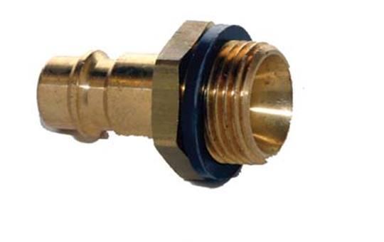 ESSK-draadstekker 9 mm. 3/8 buitendraads