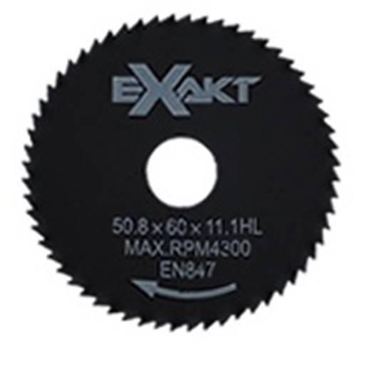 EXAKT zaagblad 60T Ø 54 mm. t.b.v. aluminium