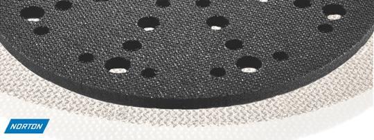 Velcro tussenpad met foam diam.150 5mm. dik t.b.v. TrivoDisc / Satellietschijf / PowerDrive / Rotex