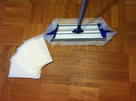 Kleefdoekjes voor het verwijderen van fijn stof Verpakt per 5 stuks (separaat)