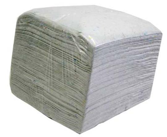 Droogwrijf doeken katoen 10 kg.  Geschikt voor 325mm aandrijfschijven.