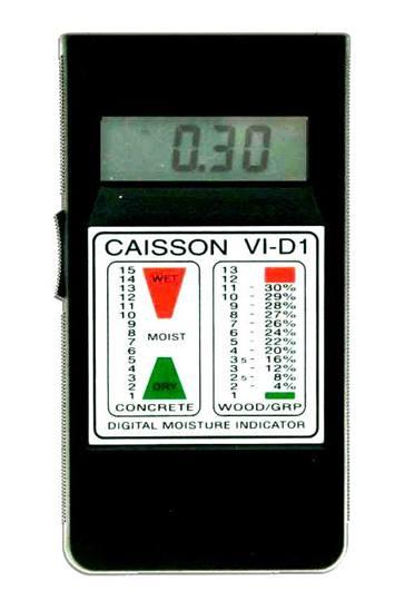 CAISSON indicatie vochtmeter VI-D1  Voor hout en bouwmaterialen