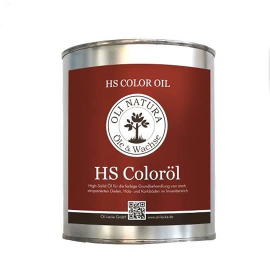 Oli-Natura HS Color olie teak 1 liter Verpakt per 6 x 1 liter (Tijdelijk niet verkrijgbaar)