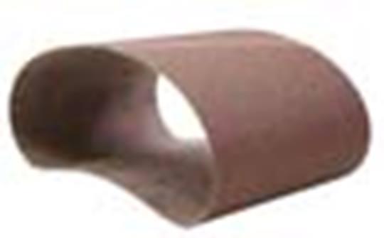 NORTON Aluminiumoxide schuurbanden afm. 100 x 610 mm. P 40 R230 Afname per 20 stuks