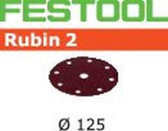 FESTOOL 125  Rubin 2 P100 Verpakt per 50 stuks