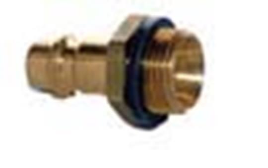 ESSK-draadstekker 9 mm.- ¼ buitendraads